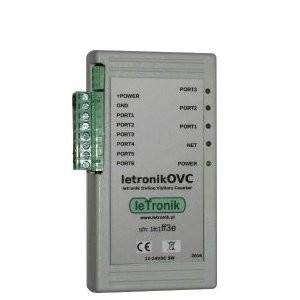 Internetowy licznik klientów letronikOVC rs485