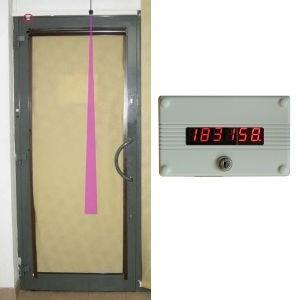 Z43  Prosty licznik odwiedzających do drzwi otwieranych do środka.
