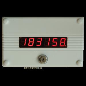 Rewersyjny licznik osób przebywających aktualnie w sklepie, autobusie LEIC4650 o570