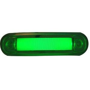 Lampa zielona krótka led  FT-045