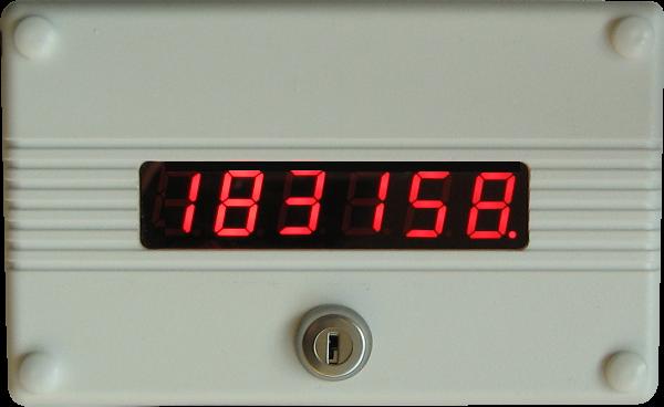 Licznik impulsów LEIC4650 o455 do licznika osób.