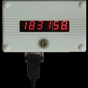 Centralka licznika osób LEIC4650 o575 z limitem.
